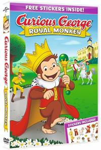 Curious George: Royal Monkey (2019) poster