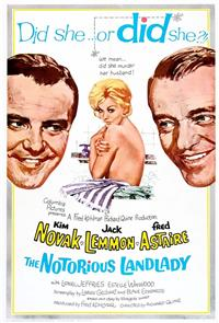 The Notorious Landlady (1962) Poster