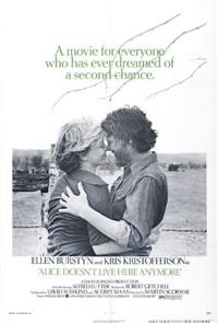 Alice Doesn't Live Here Anymore (1974) Poster