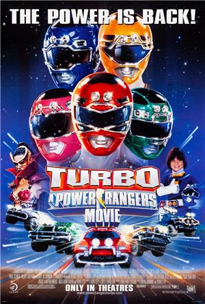 Turbo: A Power Rangers Movie (1997) 1080p Poster