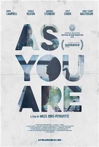 As You Are (2016) 1080p Poster