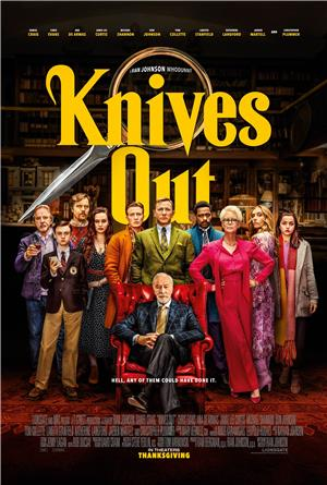 Knives Out (2019) 1080p Poster