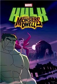 Hulk: Where Monsters Dwell (2016) 1080p Poster