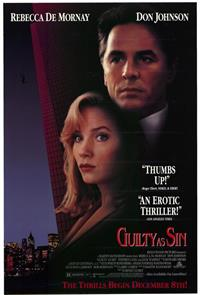 Guilty as Sin (1993) 1080p Poster