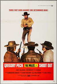 Shoot Out (1971) Poster