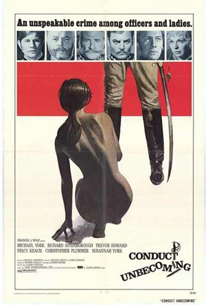 Conduct Unbecoming (1975) 1080p Poster