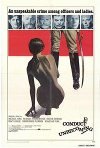 Conduct Unbecoming (1975) poster