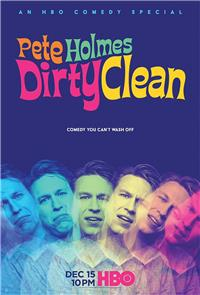Pete Holmes: Dirty Clean (2018) 1080p poster