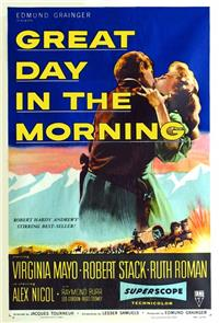 Great Day in the Morning (1956) Poster