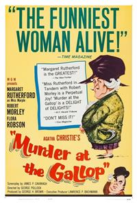 Murder at the Gallop (1963) Poster
