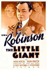 The Little Giant (1933) Poster