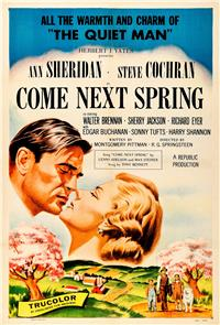 Come Next Spring (1956) Poster