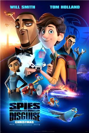 Spies in Disguise (2019) 1080p Poster