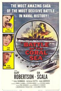Battle of the Coral Sea (1959) 1080p Poster