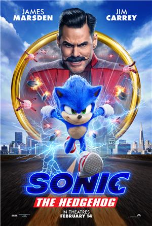Sonic the Hedgehog (2020) Poster