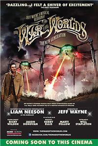 Jeff Wayne's Musical Version of the War of the Worlds - The New Generation: Alive on Stage! (2013) Poster