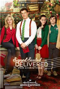 Signed, Sealed, Delivered for Christmas (2014) 1080p Poster