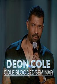 Deon Cole: Cole-Blooded Seminar (2016) 1080p Poster