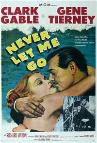 Never Let Me Go (1953) Poster
