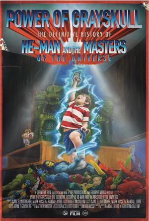 Power of Grayskull: The Definitive History of He-Man and the Masters of the Universe (2017) Poster