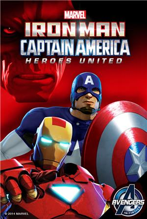 Iron Man & Captain America: Heroes United (2014) 1080p Poster