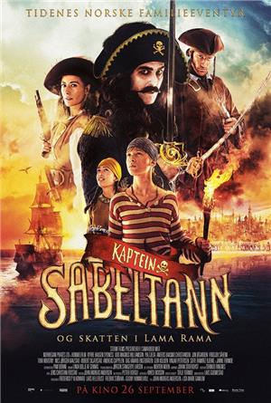 Captain Sabertooth and the Treasure of Lama Rama (2014) Poster
