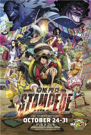 One Piece: Stampede (2019) 1080p Poster