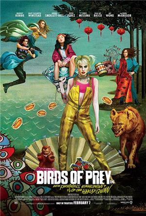 Birds of Prey (and the Fantabulous Emancipation of One Harley Quinn) (2020) 1080p Poster