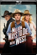 A Million Ways to Die in the West (2014) 1080p Poster