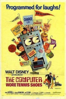 The Computer Wore Tennis Shoes (1969) 1080P Poster