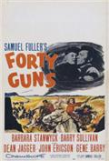 Forty Guns (1957) Poster