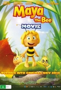 Maya the Bee Movie (2014) Poster