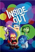 Inside Out (2015) 3D Poster