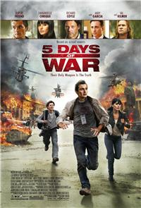 5 Days Of War (2011) 1080p Poster