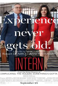 The Intern (2015) 1080p Poster