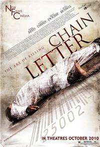 Chain Letter (2010) Poster
