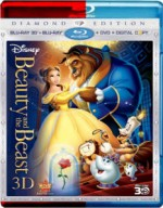 Beauty and the Beast (1991) 3D Poster