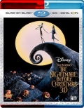 The Nightmare Before Christmas (1993) 3D Poster