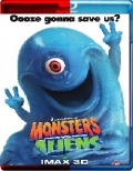 Monsters vs Aliens (2009) 3D Poster