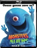 Monsters vs Aliens (2009) 1080p Poster