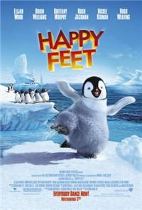 Happy Feet (2006) 1080p Poster