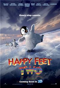 Happy Feet Two (2011) 1080p Poster