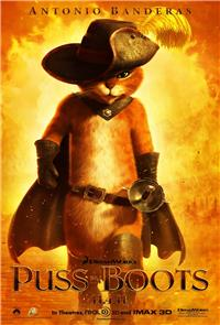 Puss in Boots (2011) 1080p Poster