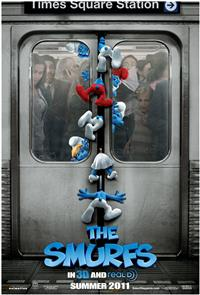 The Smurfs (2011) 1080p Poster