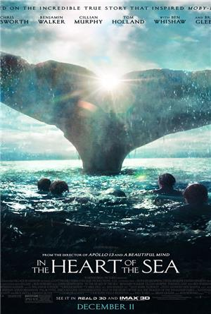 In the Heart of the Sea (2015) 1080p Poster