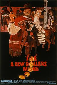 For a Few Dollars More (Per Qualche Dollaro in Piu) (1965) 1080p Poster