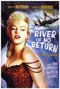 River of No Return (1954) 1080p Poster