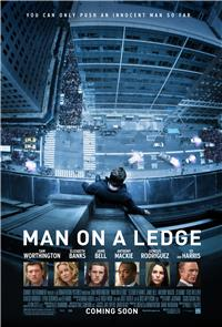 Man on a Ledge (2012) 1080p Poster