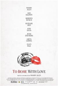 To Rome with Love (2012) 1080p Poster