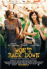 Won't Back Down (2012) 1080p Poster